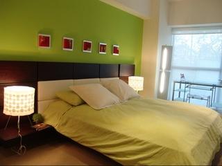 小户型自然清新两居欣赏卧室效果