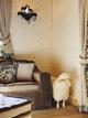美式复古木质别墅欣赏客厅局部