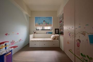 117平温馨新古典三居欣赏儿童房