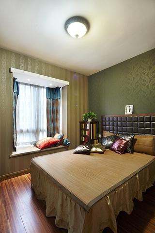 118平混搭风格住宅欣赏卧室