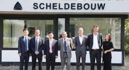广田控股集团执行董事、总裁张翼一行出席帕玛斯 荷兰、意大利、美国地区员工见面会