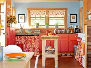 橙色浪漫家居欣赏厨房