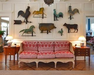 简欧风格别墅欣赏沙发背景