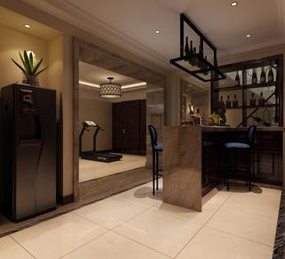 新古典大四居住宅欣赏厨房吧台