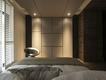 现代效果图设计住宅套图卧室设计