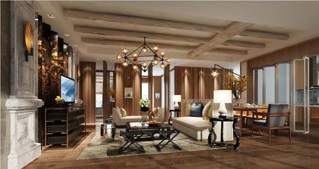 现代风格雅致住宅欣赏客厅