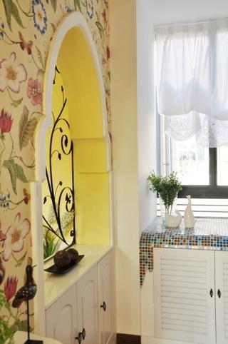 122平田园风格住宅欣赏厨房