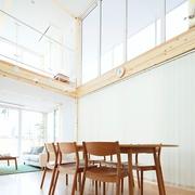 67平日式风格别墅欣赏餐厅效果