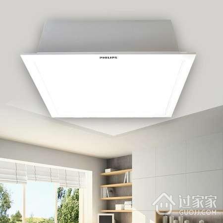 嵌入式吸顶灯的安装方法与拆卸方法