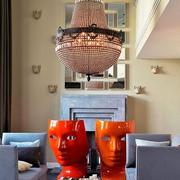 老公寓改造现代新住宅欣赏客厅