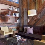 后现代材料利用住宅欣赏客厅