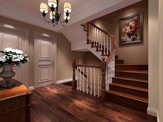 107平简约风格住宅欣赏楼梯间