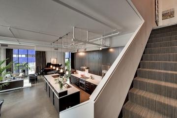 现代风格别墅设计赏析客厅全景