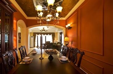 115平混搭三室两厅欣赏餐厅