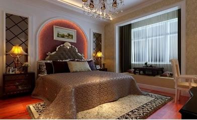 暖色调混搭风格两居欣赏卧室