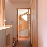 124平日式风格住宅欣赏洗手间