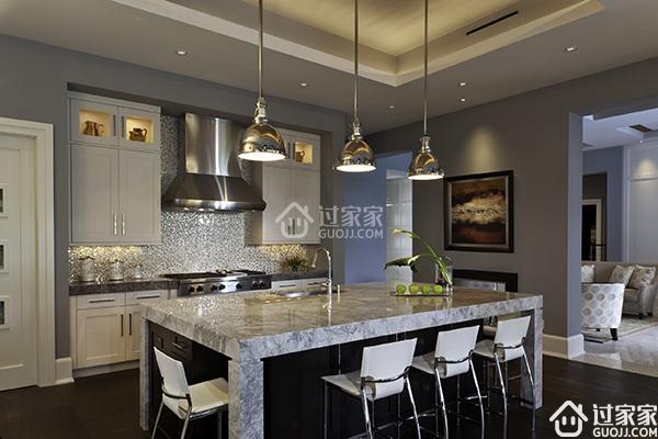 用灵动的设计元素,来点燃生活的激情! 现代风格厨房装修设计
