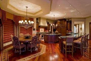 美式奢华别墅装饰赏析厨房过道