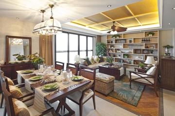东南亚风格住宅客厅