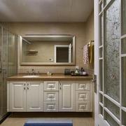 121平美式大宅欣赏卫生间室内门