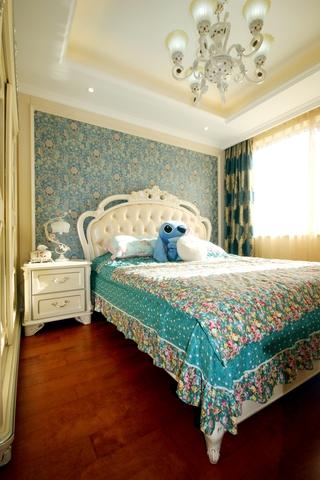 130平欧式奢华四居欣赏卧室陈设