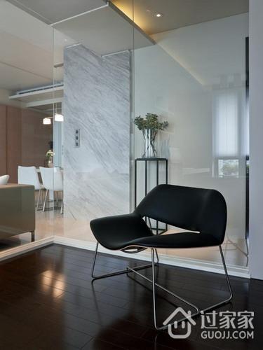 现代风家装客厅局部座椅效果图