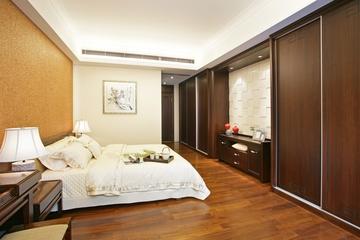 中式家庭设计卧室效果图欣赏