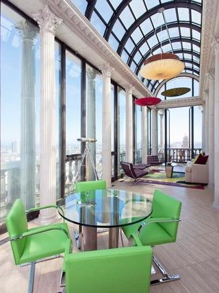 顶级奢华欧式上层建筑欣赏阳台设计