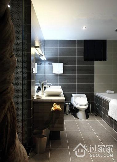 耐看又实用 卫生间墙面砖设计图