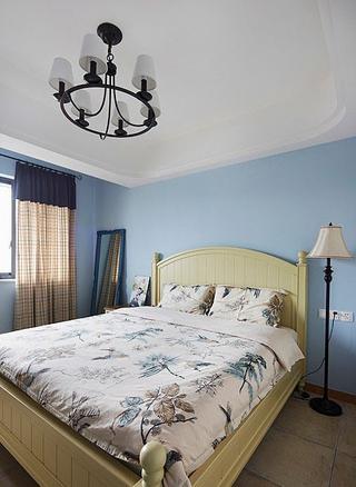 93平地中海住宅欣赏卧室