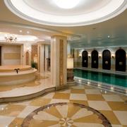 新古典别墅效果图浴室全景