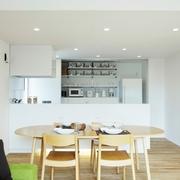 112平日式风格住宅欣赏餐厅全景