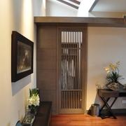现代别墅设计效果图室内门