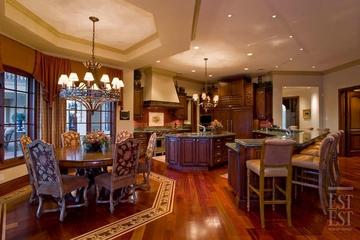 美式奢华别墅装饰赏析厨房设计