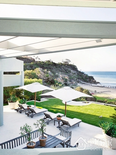 海景度假阳光别墅欣赏庭院设计