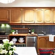 旧的有味道的美式住宅欣赏厨房