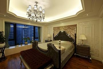 欧式奢华大宅设计欣赏卧室陈设