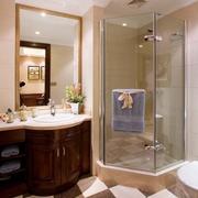 美式风格别墅浴室装修效果图