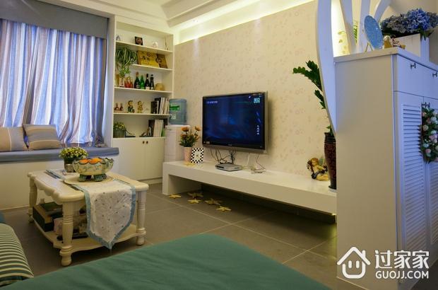 70平简约两居室案例欣赏客厅飘窗