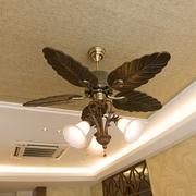东南亚风格住宅客厅吊顶
