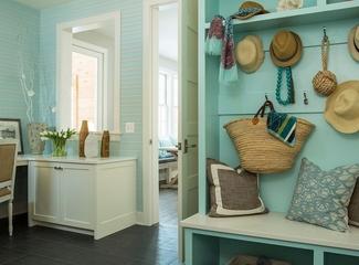 温馨田园两居室欣赏过道设计