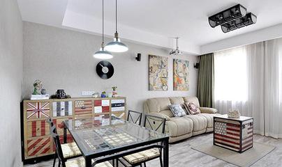 90后文艺小青年新房装修 铁艺桌身透明玻璃彰显现代风格