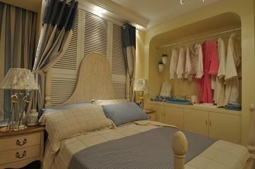 81平田园风格三居室欣赏儿童房设计