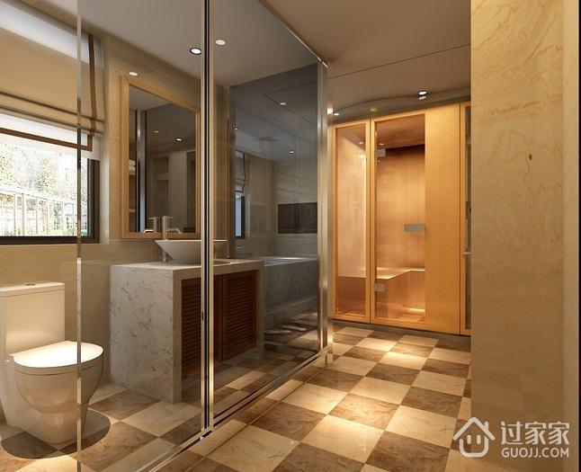 时尚现代卫生间推拉门效果图 精致公寓