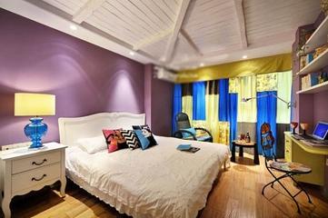 巧妙多彩简约住宅欣赏卧室设计