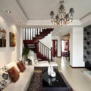现代风格装修设计客厅陈设效果图
