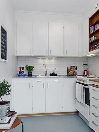 细节精致宜家一居室欣赏厨房设计