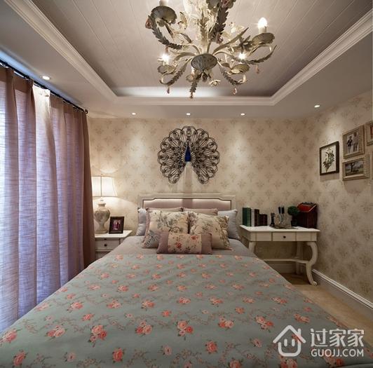 奢华欧式精装住宅欣赏卧室吊顶设计