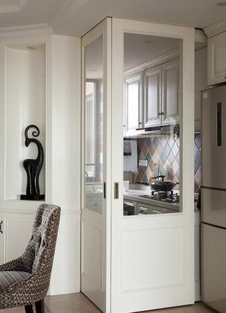 时尚厨房室内门装修图