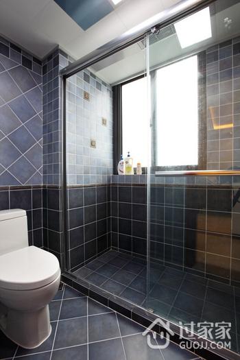 美式风三居室案例欣赏卫生间吊顶
